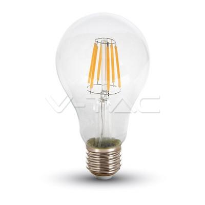 V-TAC LED žárovka Filament Bulb 10W 1055lm E27 VT-1981 – Teplá bílá 2700K