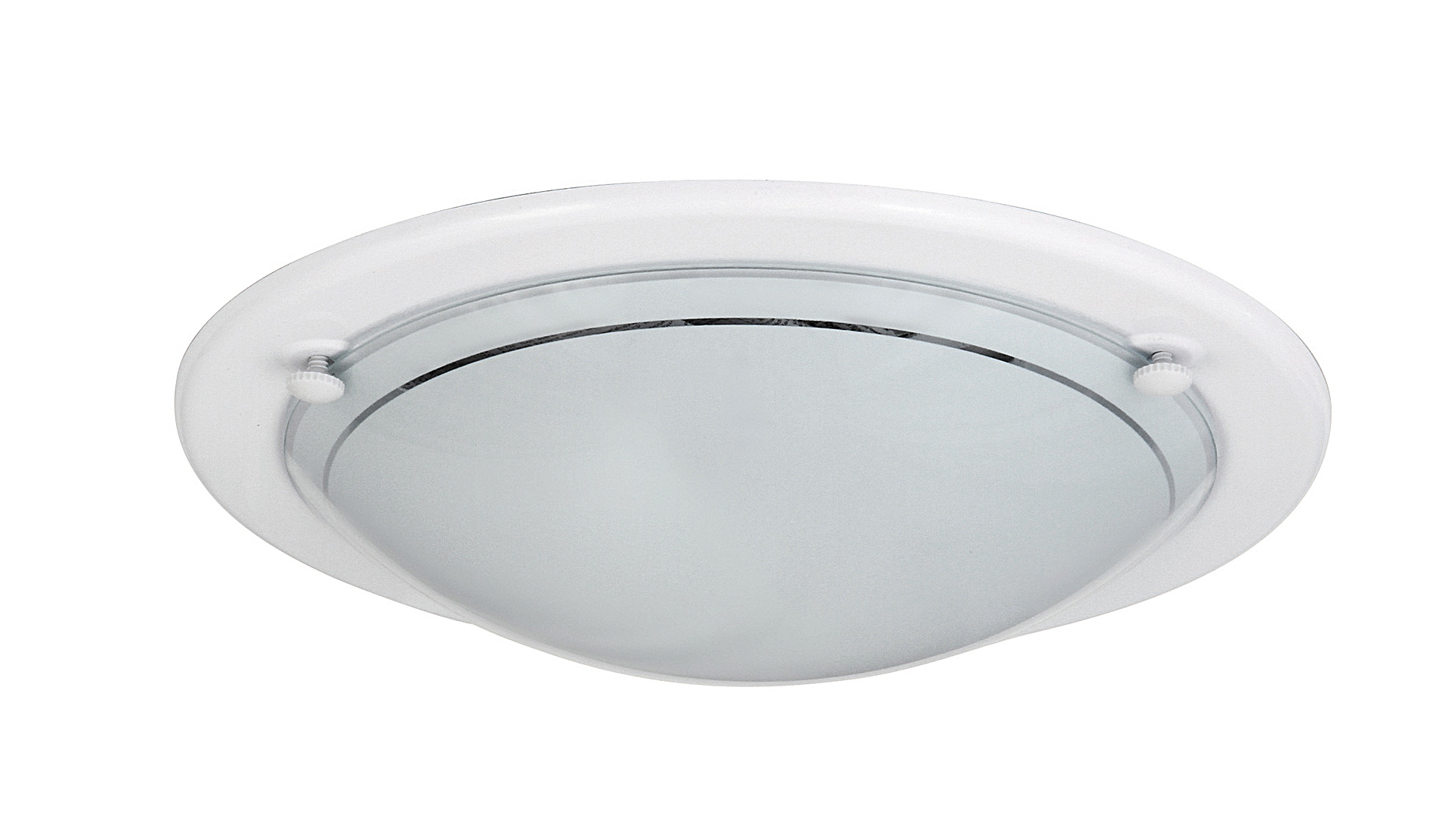 Fotografie Stropní / nástěnné svítidlo UFO, 1xE27, 60W, 28,5cm, kulaté, bílé Rabalux UFO 005101 Rabalux