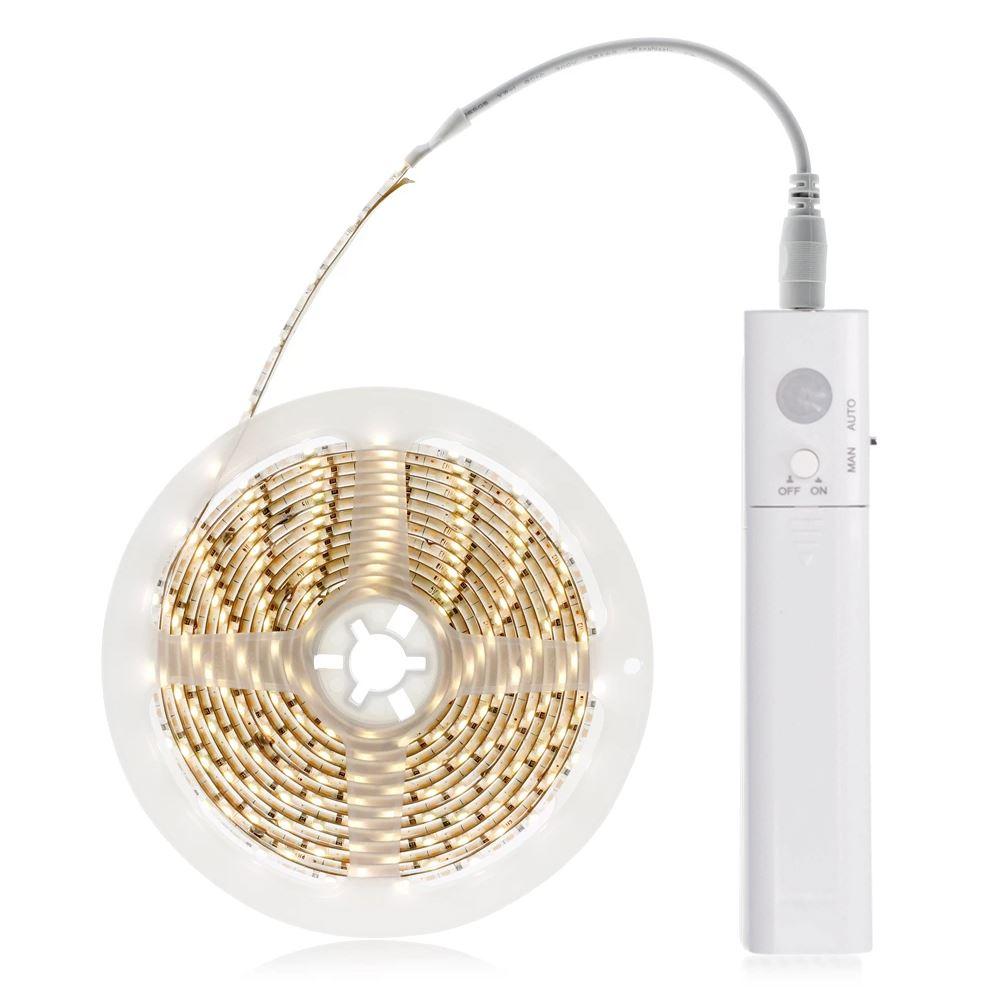 WM56 Solight LED světelný pás s pohybovým senzorem, 1m, 4x AAA