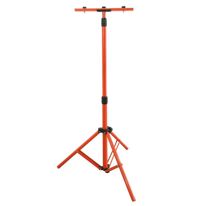 WM-150-S Solight stojan teleskopický pro LED reflektory, 60-150cm, pro 1-2 reflektory, oranžová barv
