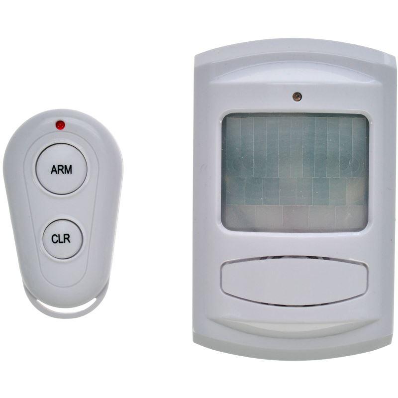 1D11 Solight GSM Alarm, pohybový senzor, dálk. ovl., bílý