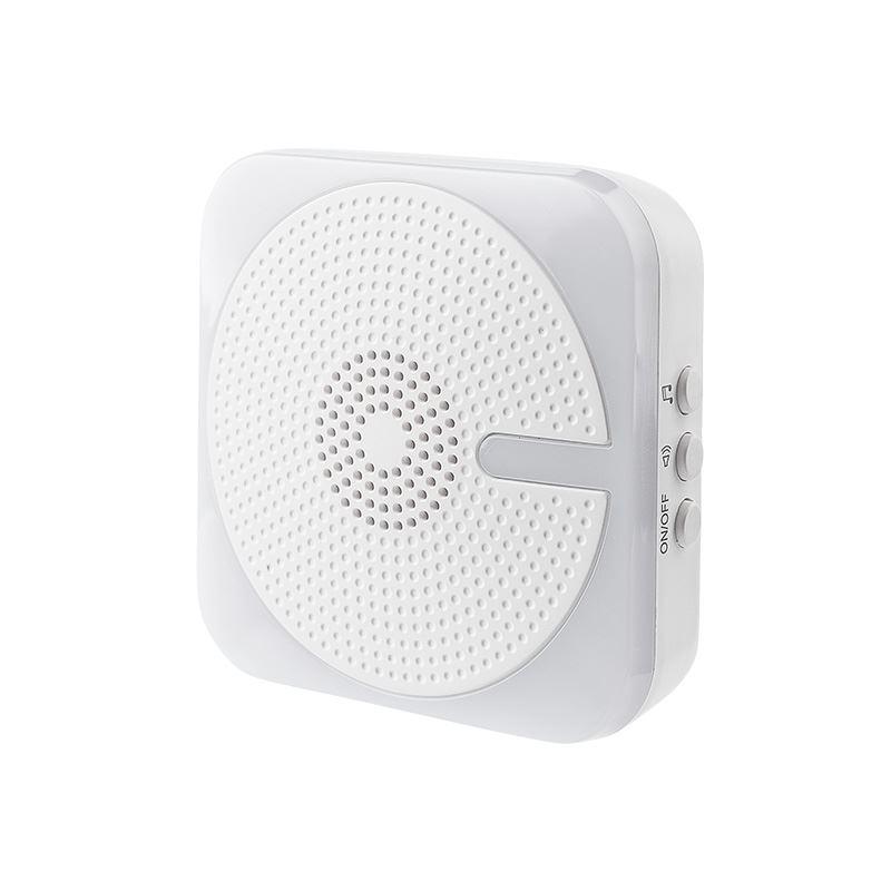 1L61 Solight bezdrátový zvonek, do zásuvky, 200m, bílý,světelná signalizace, learning code