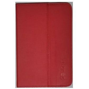 1N40R Solight univerzální pouzdro - desky z polyuretanu pro tablet nebo čtečku 7'', červené