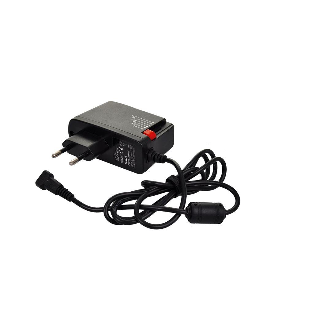 DA26 Solight univerzální síťový adaptér 1500mA, stabilizovaný, výměnné konektory