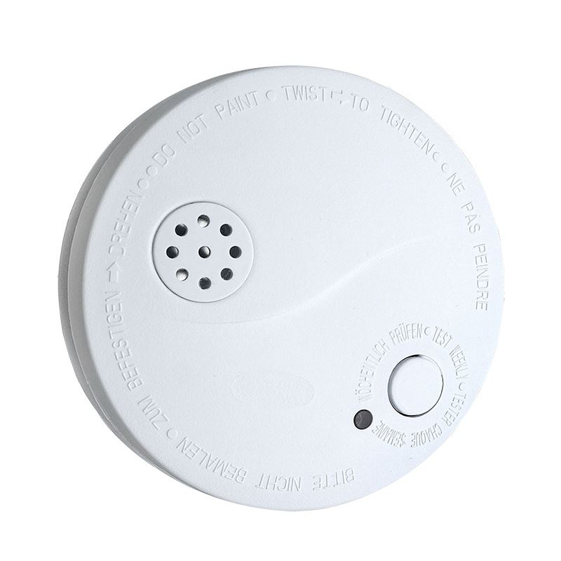 1D33 Solight detektor kouře + alarm, 85dB, bílý + 9V baterie