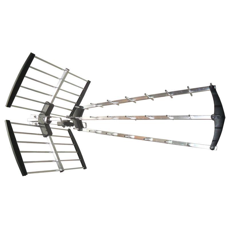 HN53-LTE Solight venkovní DVB-T anténa, 17dB, UHF, 21. - 60. kanál, LTE/4G filtr