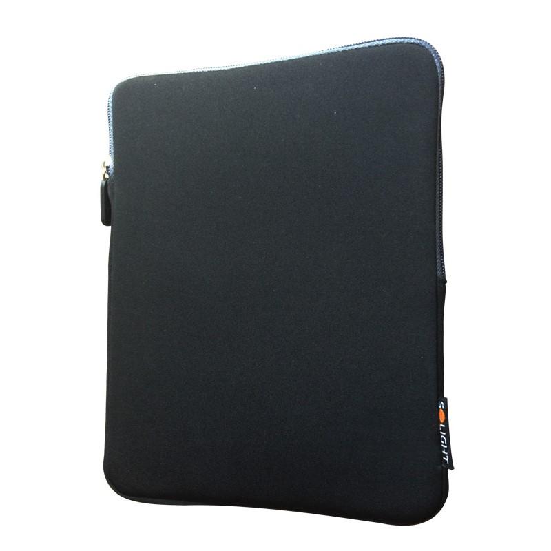 1N29 Solight neoprenové pouzdro na tablet 10'', nárazuvzdorné polstrování, černé