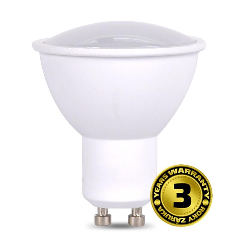 WZ324 Solight LED žárovka, bodová , 5W, GU10, 6000K, 400lm, bílá