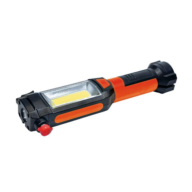 WL112 Solight multifunkční LED světlo, 3W COB + 1W LED, klip, magnet, flexibilní, 3x AAA