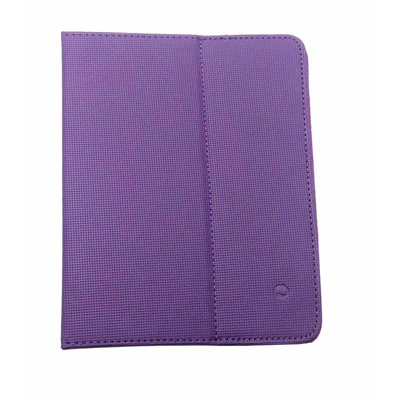 1N41V Solight univerzální pouzdro - desky z polyuretanu pro tablet nebo čtečku 8'', fialové