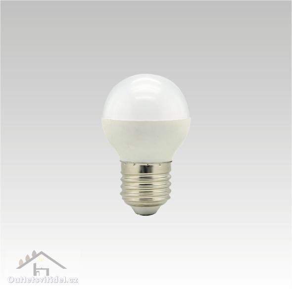 NBB BOHEMIA Žárovka LED 7W E27 4000K studená bílá