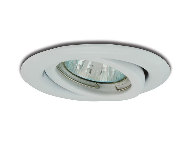 PANLUX VPD-R50/B vestavné bodové svítidlo výklopné bílé