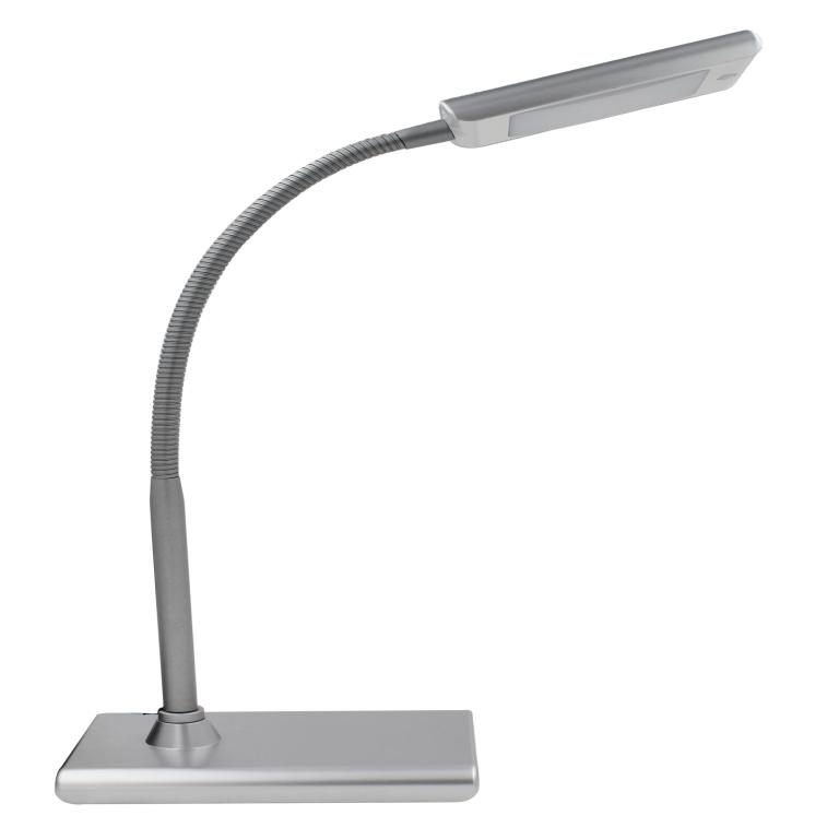 Nipeko FLEXO LED HT6101 stříbrná stolní lampa