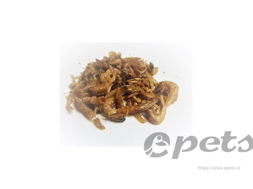 Sušené Krevetky 1-2cm 1l/160g
