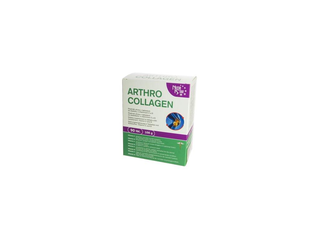 ARTHROCOLLAGEN 90 tbl Nutristar-kolagen, glukosamin, chondroitin, L-lysin,MSM,biotin,L-lysin
