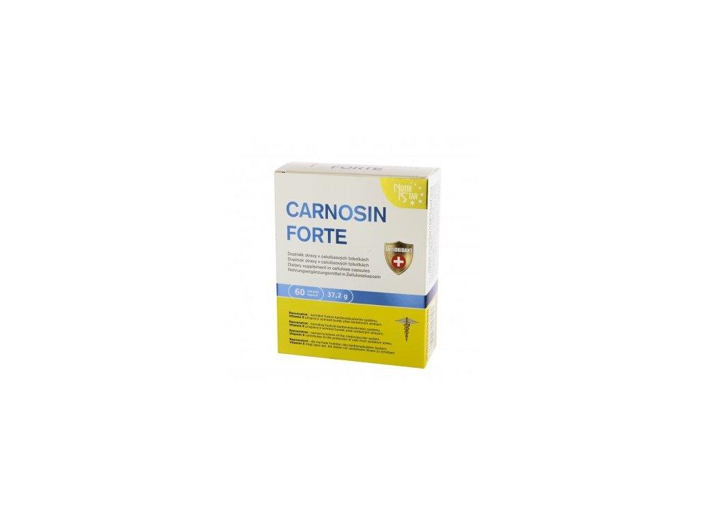 CARNOSIN FORTE 60 tobolek Q10, resveratrol, L-carnitin, succinic acid