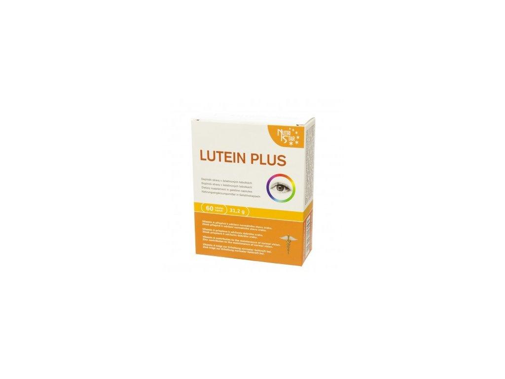 LUTEIN Plus 60 cps zeaxanthin, zinek, betakaroten, vitamin A, E