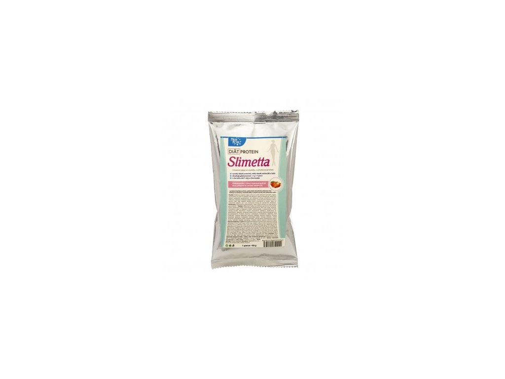 Diät Protein SLIMETTA 50 g VANILKA  - 1 porce, nápoj