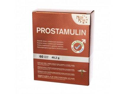 PROSTAMULIN 60 cps. - Saw Palmetto, lycopen, zinek, selen