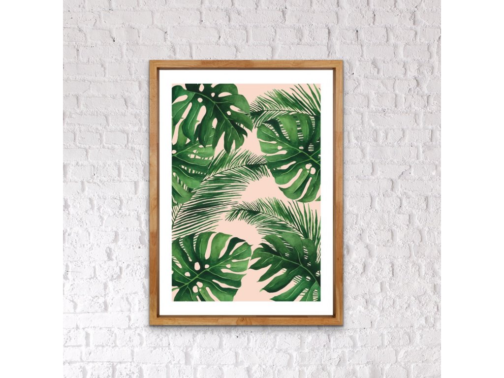 Listy- monstera