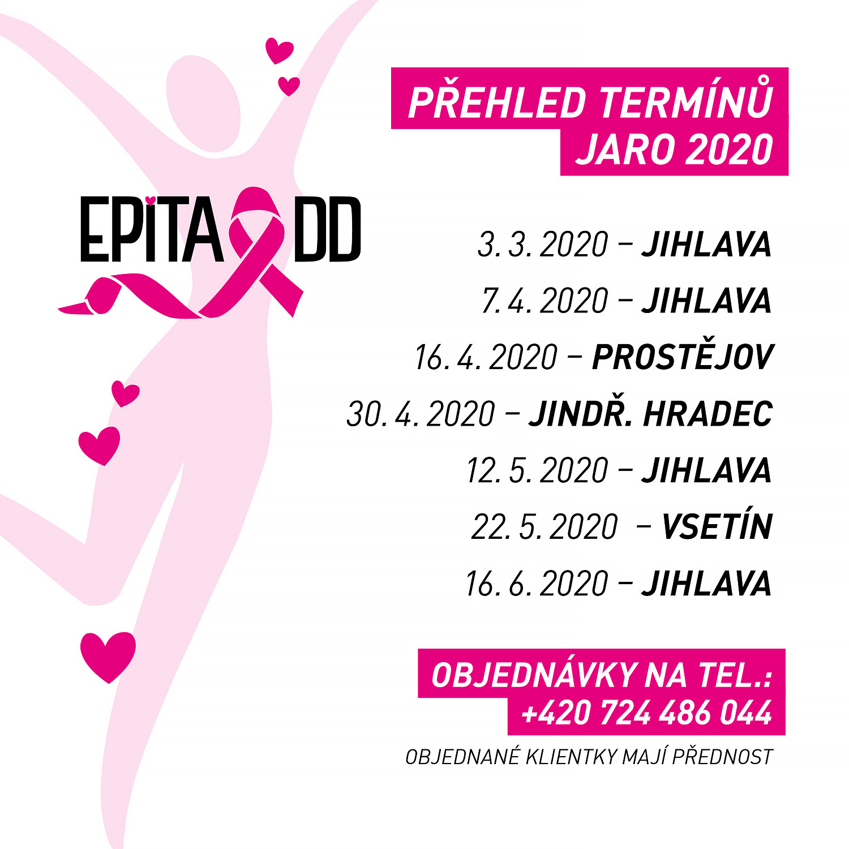 PŘEHLED PORADENSKÝCH A PRODEJNÍCH AKCÍ JARO 2020