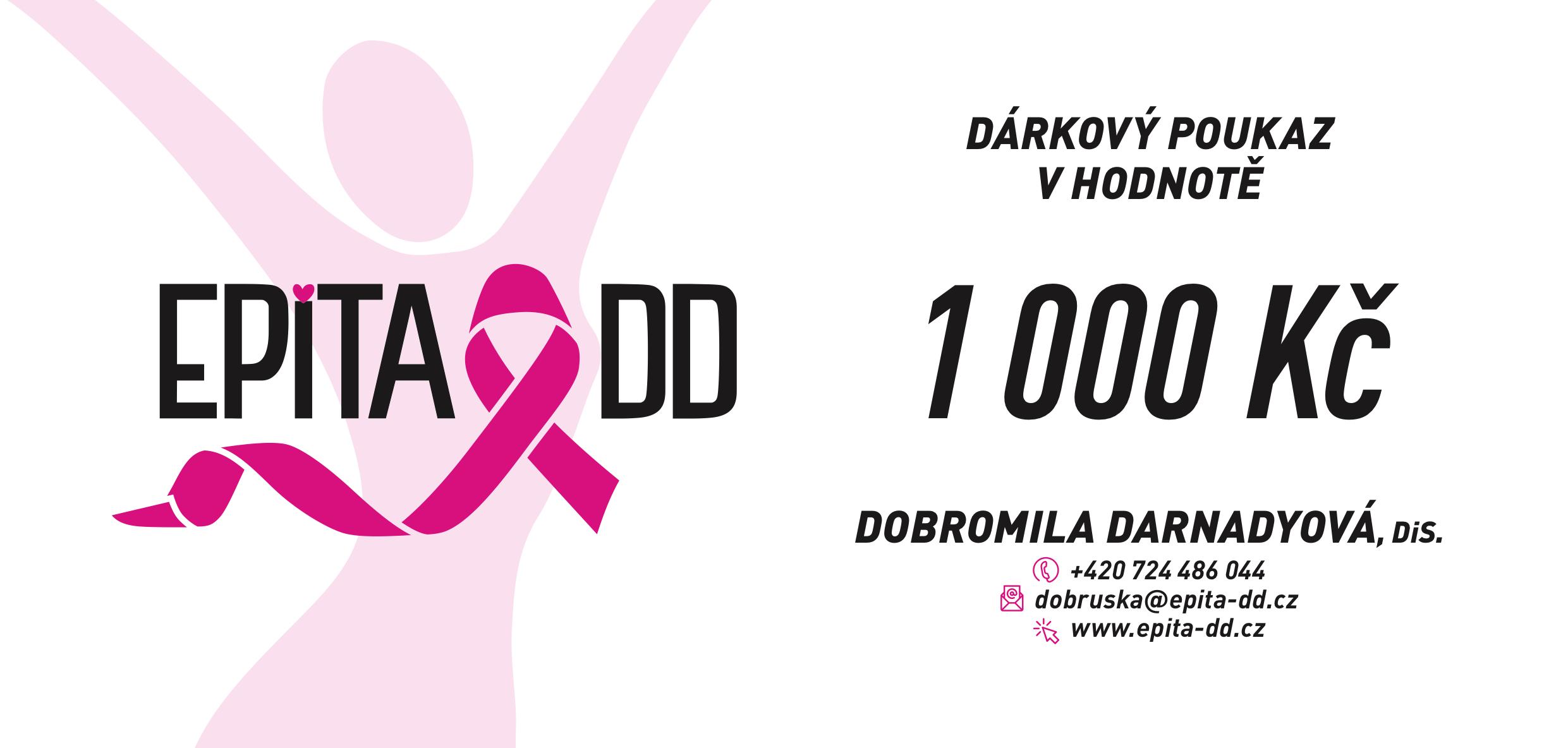 DARKOVY-POUKAZ-1000KC-DOBROMILA-DARNADYOVA-EPITA-DD