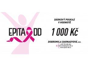 DARKOVY POUKAZ 1000KC DOBROMILA DARNADYOVA EPITA DD