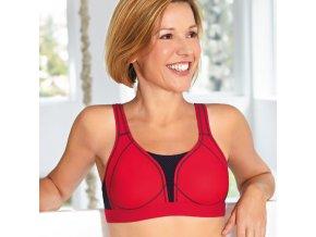 Performance SB - červená - sportovní podprsenka po operaci prsu Amoena