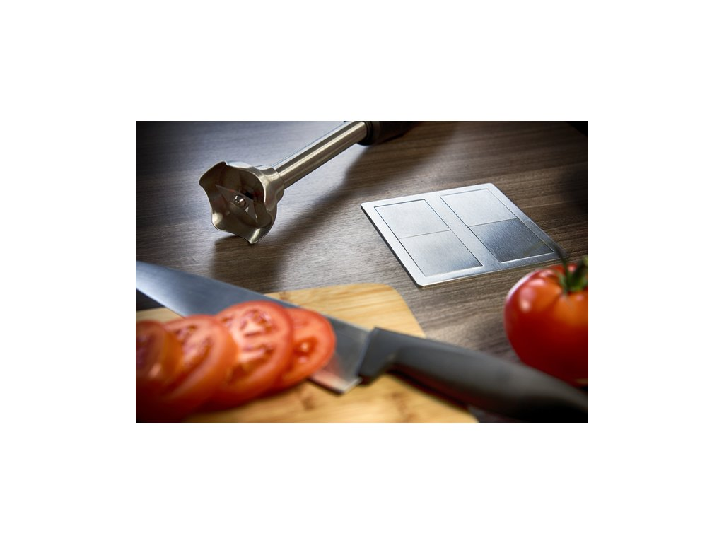 kuchynska eplug zasuvka 2x230v asa ip54 versahit aluminium asa plastici 060.15e.00001
