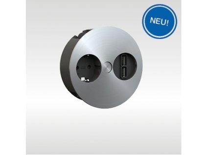 BACHMANN TWIST USB Charger Kachel NEU DE