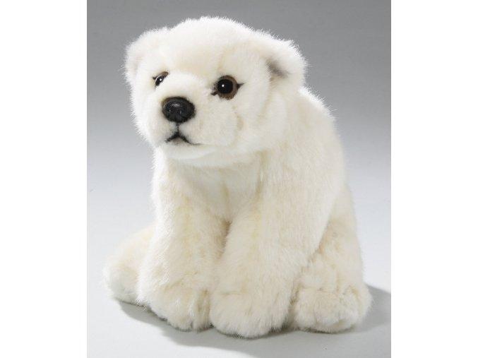 Plüss jegesmedve 15 cm - plüss játékok