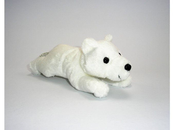 Plüss jegesmedve 13 cm - plüss játékok
