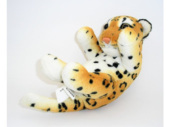 Plüss leopárd 20 cm - plüss játékok