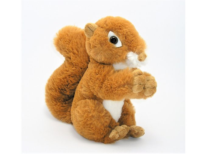 Plüss mókus 20 cm - plüss játékok
