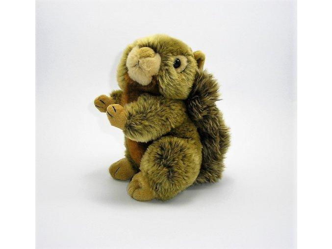Plüss mókus 19 cm - plüss játékok