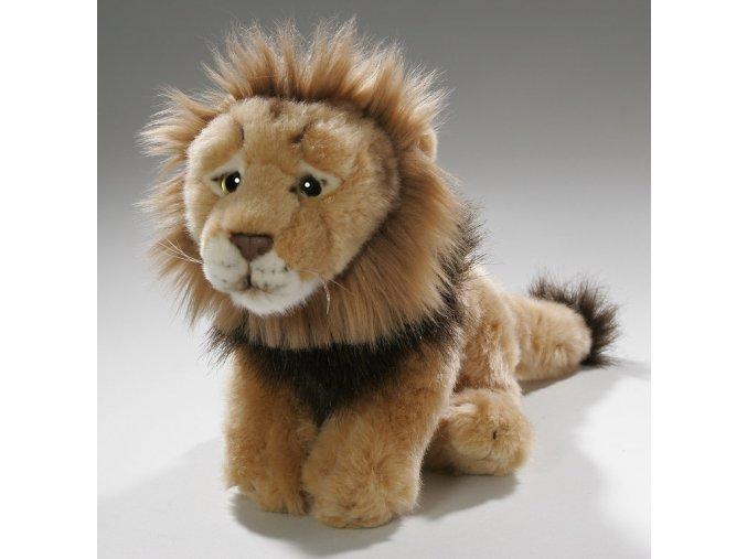 Plüss oroszlán 26 cm - plüss játékok