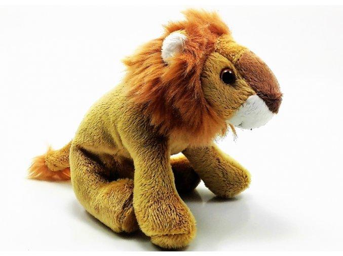 Plüss oroszlán 15 cm - plüss játékok