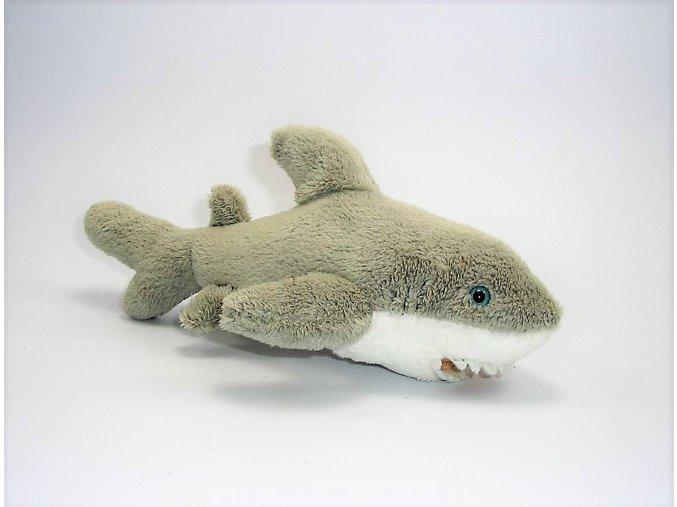 Plüss cápa 22 cm - plüss játékok
