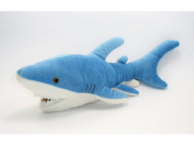Plüss cápa 42 cm - plüss játékok