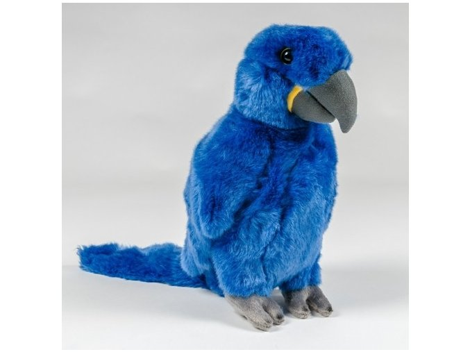 Plüss papagáj 26 cm - plüss játékok