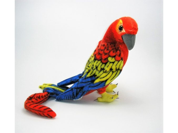 Plüss papagáj 35 cm - plüss játékok