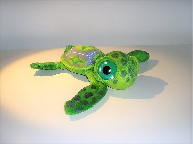 Plüss teknős 24 cm - plüss játékok