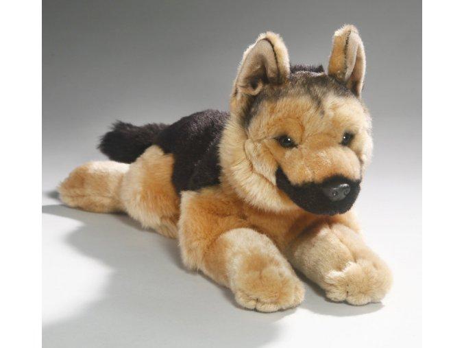 Plüss németjuhász kutya 42 cm - plüss játékok