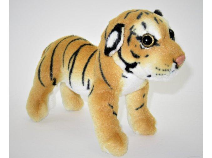 Plüss tigris 18 cm - plüss játékok
