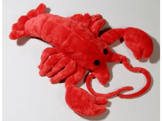 Plüss homár 33 cm - plüss játékok