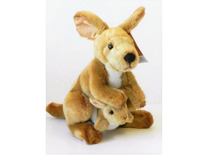 Plüss kenguru 30 cm - plüss játékok
