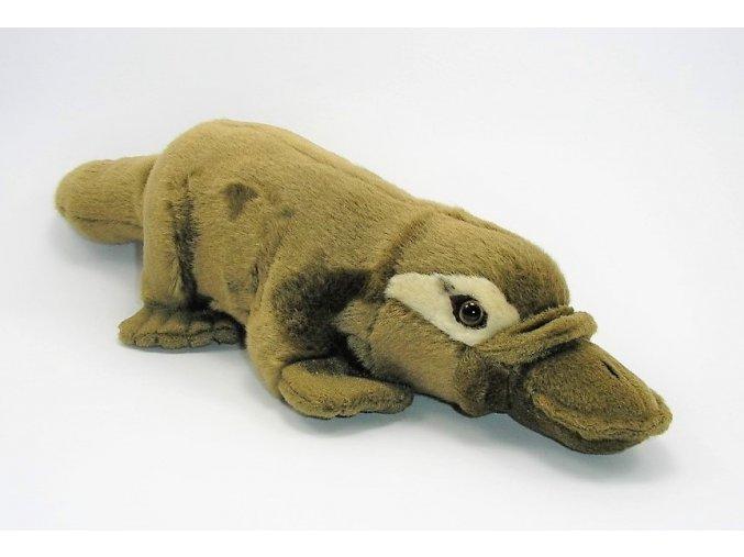 Plüss kacsacsőrű emlős 40 cm - plüss játékok