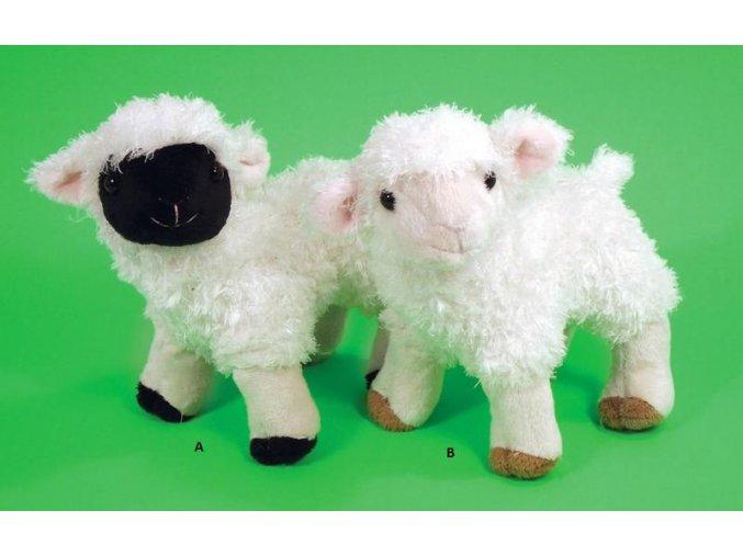 Plüss bárány 16 cm - plüss játékok