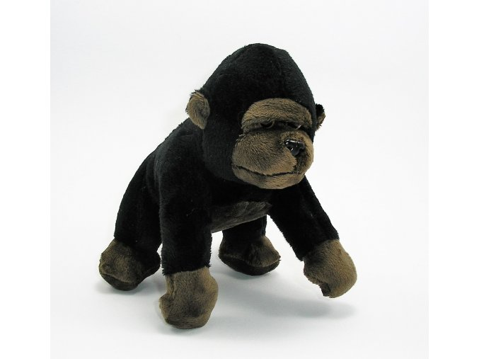 Plüss gorilla 16 cm - plüss játékok