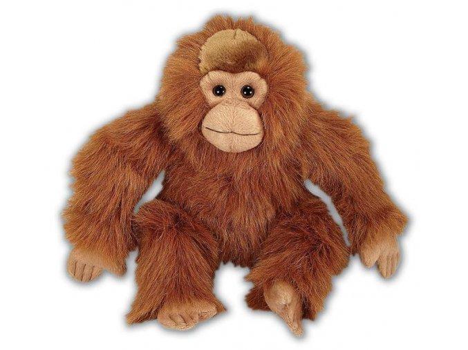 Plüss orángután 23 cm - plüss játékok